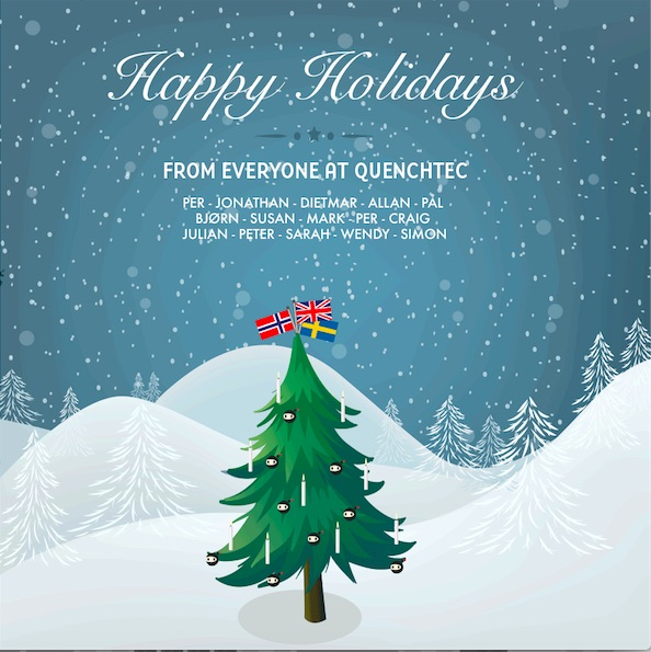Happy Holidays from QuenchTec