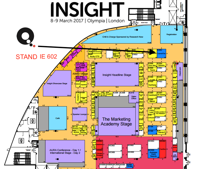 Form an orderly Q_ at the Insight Show